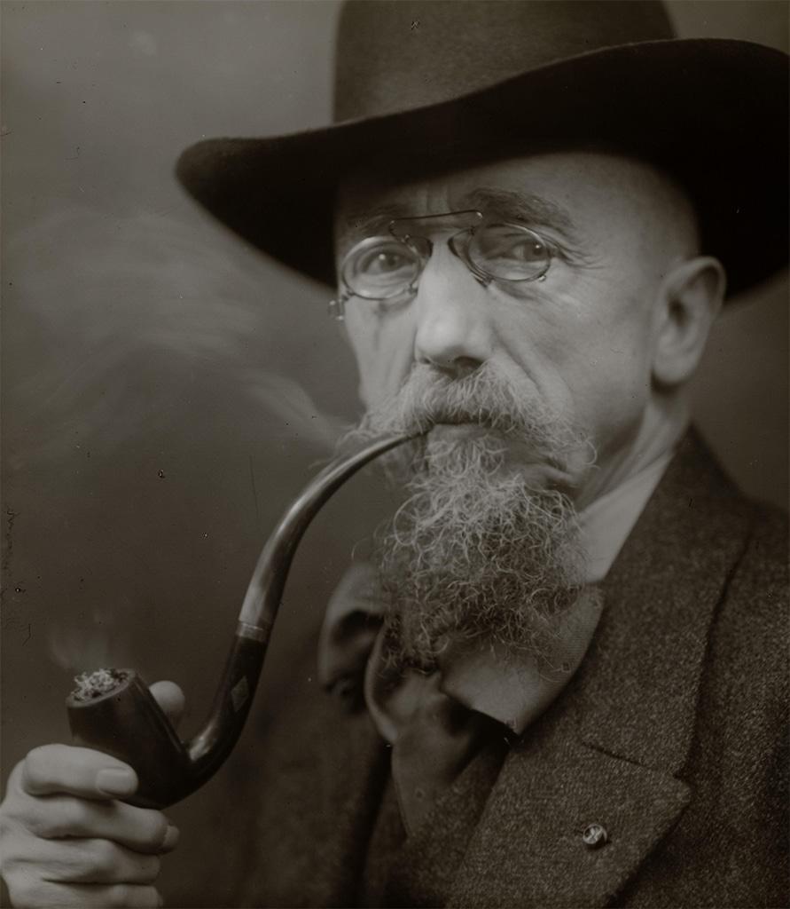 portret Johan Coenraad Braakensiek